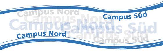 Campus Nord und Süd